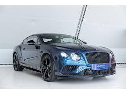 Used Bentley Continental Gt 6 0 W12 Gt Speed Factory Warranty