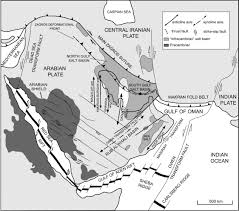 Map Of Tectonic Plates The Qatar U2013south Fars Arch Development Arabian Platform Persian