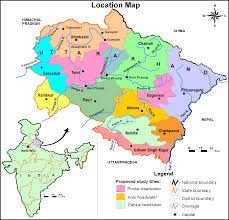 Map Of Northern India by Rapid Urban Growth In Mountainous Regions The Case Of Nainital