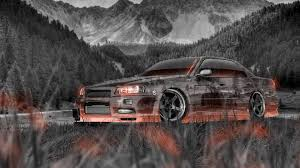 nissan skyline 2015 wallpaper nissan skyline jdm r34 sedan tuning crystal nature car 2014 el tony