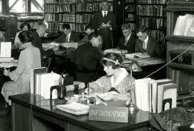 Library Reference Desk Technology That Changed Chicago Telephones 1893 Chicago Public