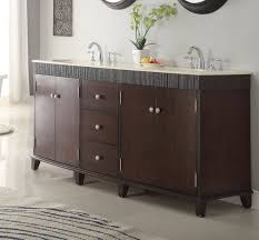 adelina 72 inch contemporary double sink bathroom vanity cream