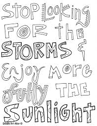 quote coloring pages fablesfromthefriends com