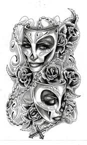 lovely skull sleeve design in 2017