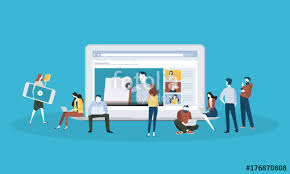 design online education flat design style web banner for online education video tutorials