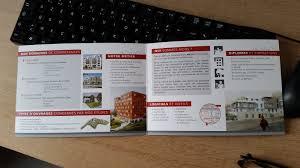 bureau architecte e création plaquette bureau d étude en architecture