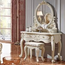 luxury french style pricess dresser makeup dressing table with