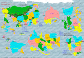 Columbia World Map by Pony Pov Series Political Map By Lz0291 On Deviantart