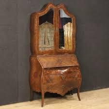 bureau secretaire antique trumeau genoese furniture dresser bureau secrétaire desk wood