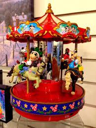 mr christmas christmas disney carousel