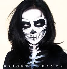 skeleton makeup halloween tutorial https youtu be e0l1ko6stda