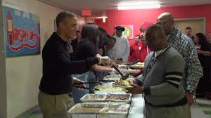 soup kitchen thanksgiving nyc obama u0027s serve thanksgiving dinner to homeless and vets cnnpolitics