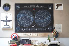 Constellations Map Best Made Co Map Of The Constellations U2014 Tools And Toys