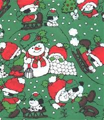 green christmas wrapping paper vintage christmas wrapping paper by sandycreekcollectables on zibbet