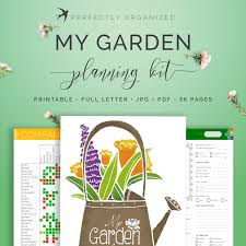 garden planner gardener journal tracker seasonal homestead