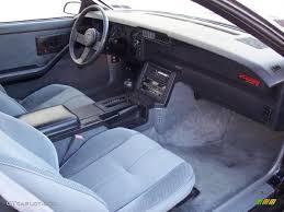 1985 chevrolet camaro iroc z gray dashboard photo 44741551