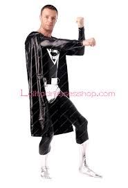 cheap shiny metallic zentai suit inspired by superman zentai suit