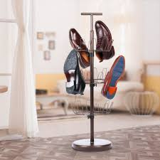 Hanging Shoe Caddy by Spinning Shoe Rack Ideas Best To Organize Your Shoes