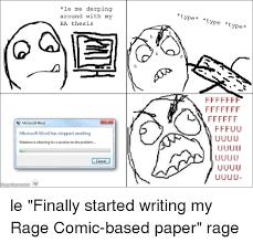 Le Me Memes - 25 best memes about rage comics finals and work rage