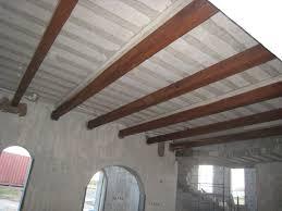 livingroom beams are up villa de la torre