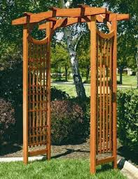 japanese wedding arches wood wedding arches pictures wedding arch 1 stained wood
