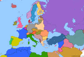 map of europe picture remilitarization of the rhineland historical atlas of europe 7