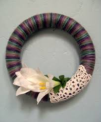 how to make your own handmade spring wreath the nerdy sewist
