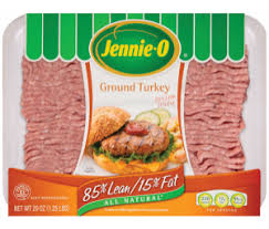 lean ground turkey nutrition information jennie o turkey