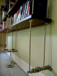 best incridible diy hanging bookshelf plans 1141