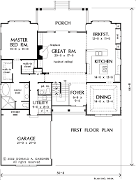 Don Gardner Floor Plans House Plan The Newcastle By Donald A Gardner Architects
