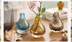 Bottle Vases Wholesale Round Glass Vases Manufacturer Blown Glass Vases Glass Vase Wholesale
