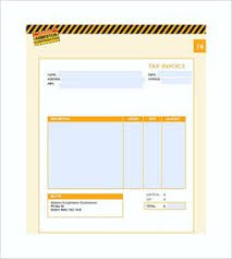 food bill format in word u2013 analysis template forms pinterest