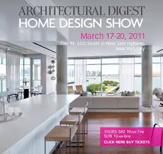 Architectural Digest Home Design Show In New York City Home Design Show Gingembre Co