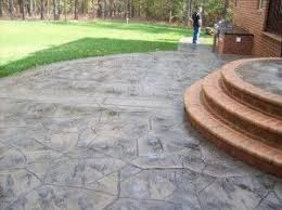 Backyard Stamped Concrete Patio Ideas The 25 Best Stamped Concrete Patios Ideas On Pinterest Stamped