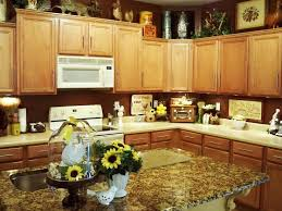 Sunflower Decorations Kitchen Design Small Sunflower Decorations For Kitchen Over