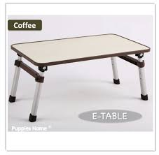 Small Portable Desk by Price Comparisons Grey Foldable Bed Table Compact Light Weight