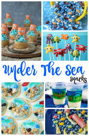 the sea party ideas the sea snacks theme party ideas living