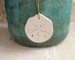 sand dollar ornament etsy