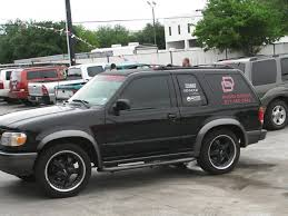Ford Explorer All Black - 1998 ford explorer information and photos zombiedrive
