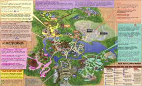 Map Of 30a Florida Disney U0027s Animal Kingdom Guidemaps 2000 1998 Page 4