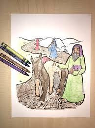 good samaritan coloring page u2013 children u0027s ministry deals