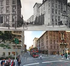 Google Maps New York City by Fifth Avenue Then And Now A Century Of Streetviews In New York