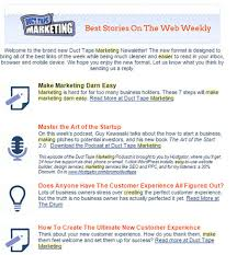 make your email newsletter mobile device friendly