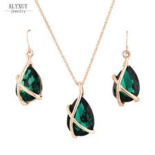 aliexpress buy new arrival hight quality white gold new fashion jewelry set white gold color drop pendant