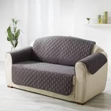 protège canapé douceur d interieur protège canapé matelassé 223x179 cm