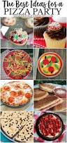the best ideas for a pizza party shaken together