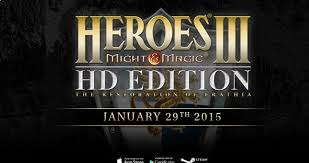heroes of might magic iii hd coming to pc and tablets on january 29