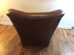 Writer S Chair Sold Ralph Lauren Leather Writer U0027s Chair Modern To Vintage