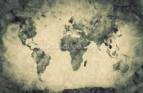 Old World Pictures by Map Wallpaper U0026 Wall Murals Wallsauce Usa
