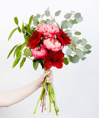 peony bouquet how to care for peonies real simple